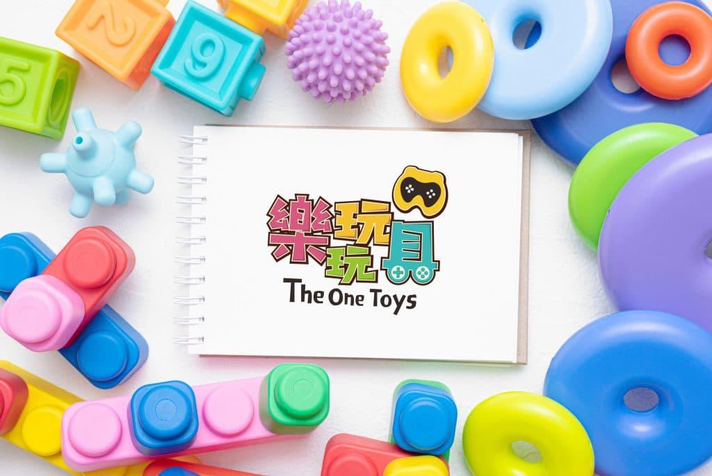 樂玩玩具 LOGO設計 形象設計 品牌設計 商標設計