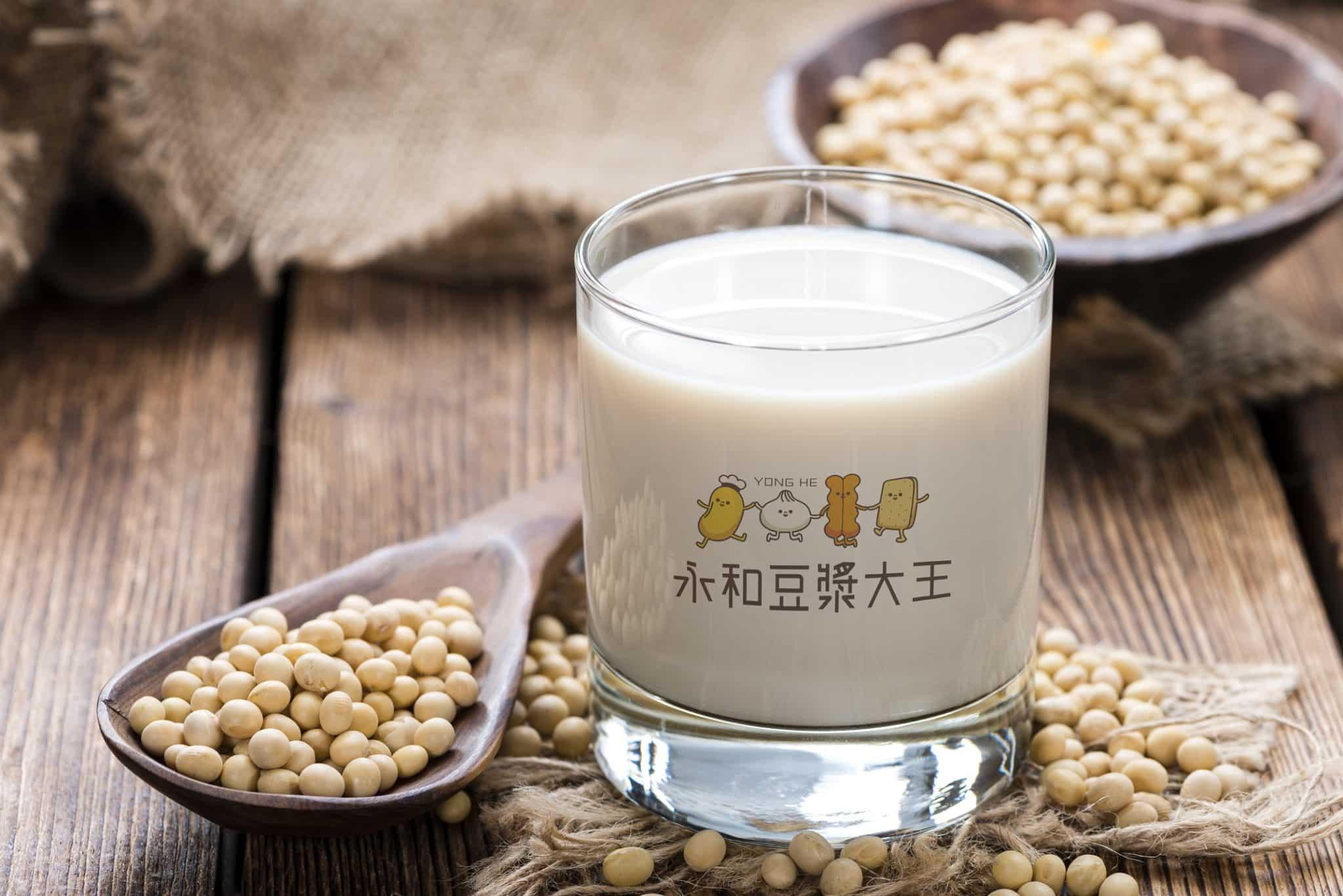 永和豆漿大王 LOGO設計 形象設計 品牌設計 商標設計