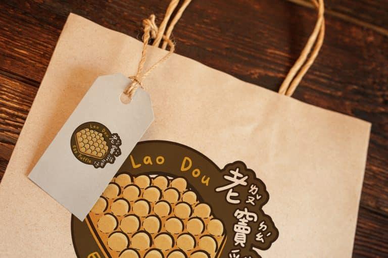 老竇雞蛋仔 LOGO設計 形象設計 品牌設計 商標設計