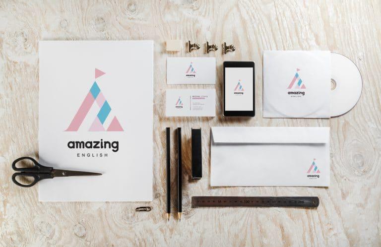 艾美森美語 LOGO設計 形象設計 品牌設計 商標設計