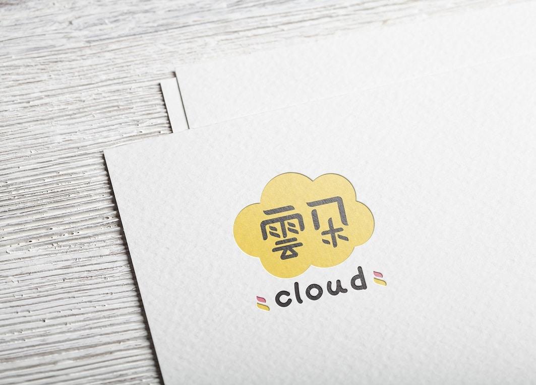 雲朵 LOGO設計 形象設計 品牌設計 商標設計