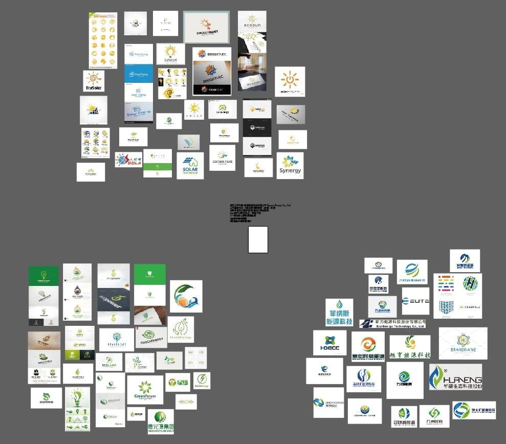 同業品牌形象及風格分析階段-情緒板 Logo設計 Logo 設計 形象設計 品牌設計 高雄商標設計 標誌設計