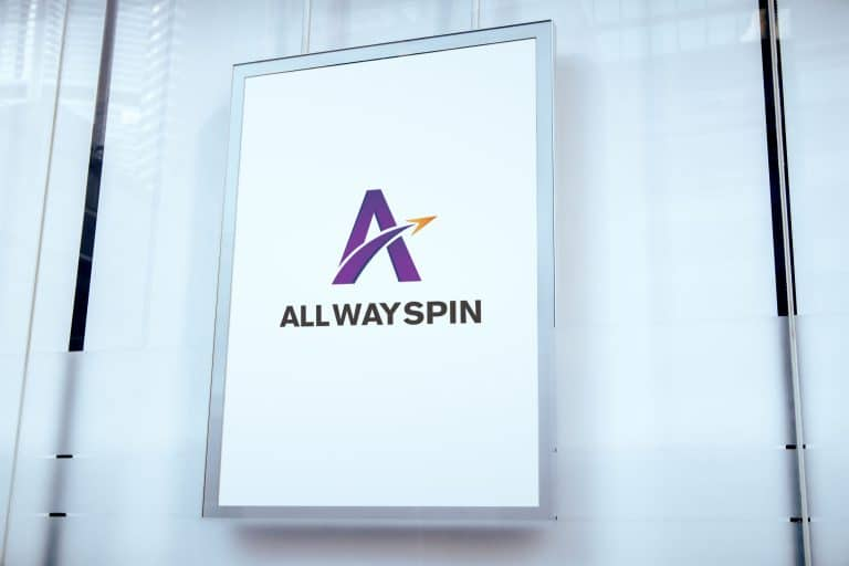 All Way Spin LOGO設計 品牌設計 商標設計 形象設計