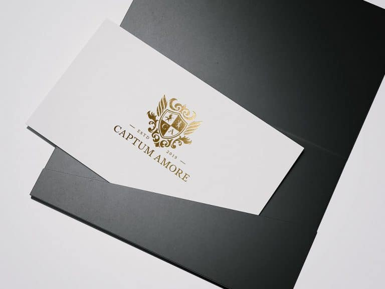 CAPTUM AMORE-logo燙金模擬