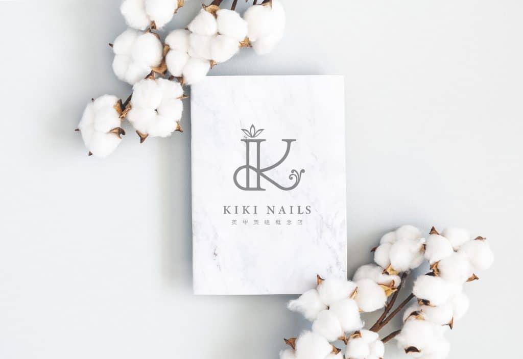 Kiki nails 美甲美睫概念店 LOGO設計 形象設計 品牌設計 商標設計