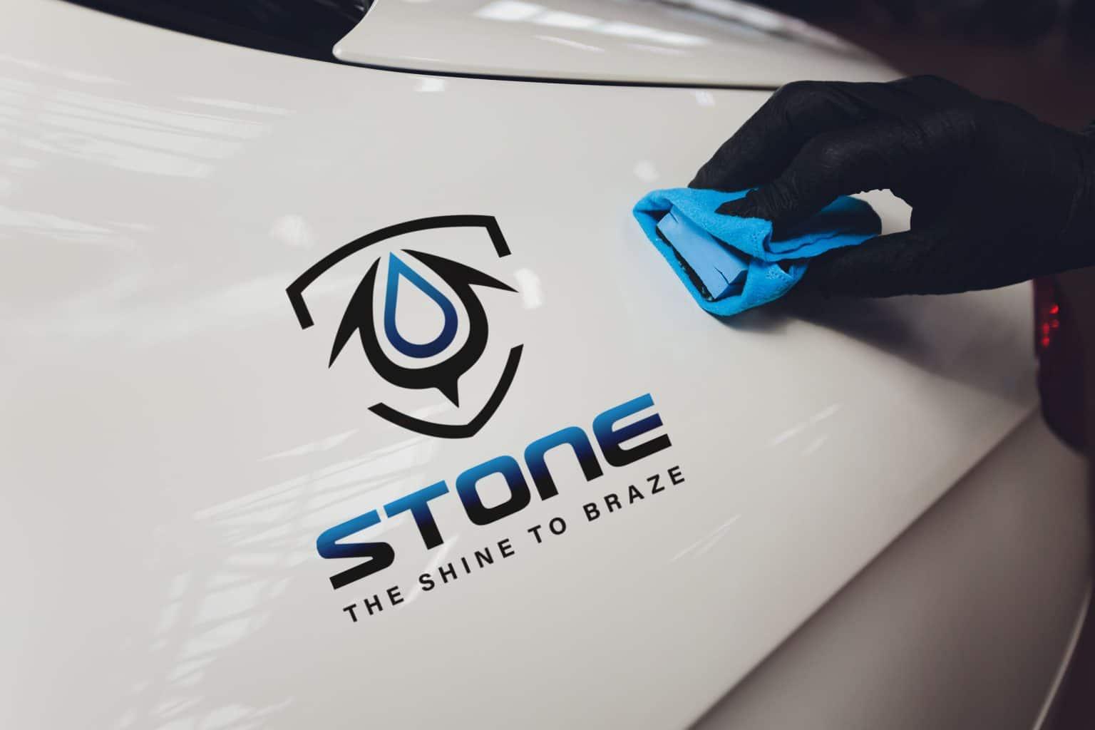 Stone汽車美容 LOGO設計 品牌設計 商標設計 形象設計