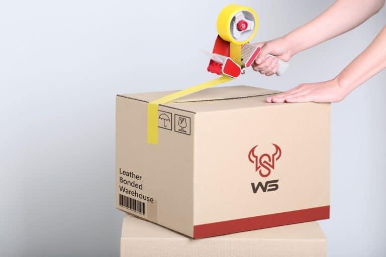 WS皮革保稅倉庫 LOGO設計 商標設計 形象設計 品牌設計