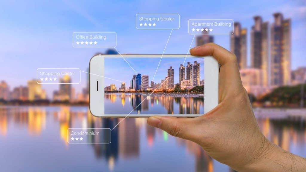 人工智能與擴增實境 示意