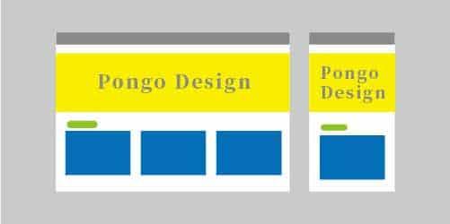RWD響應式網頁設計可以滿足從桌電、平板到行動裝置的螢幕尺寸。