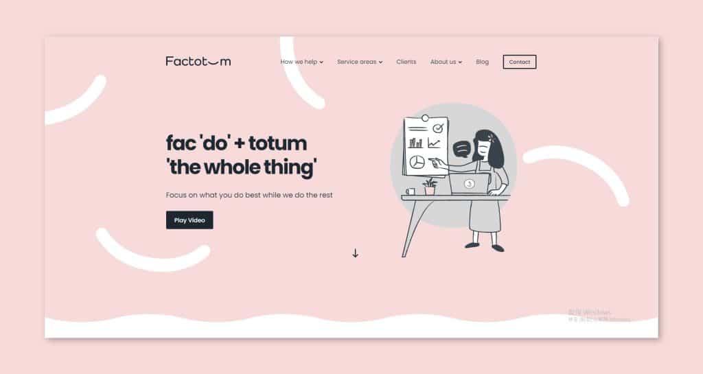 色彩輪廓不會過於活潑的特性,讓希望網頁設計更為沉穩的品牌也能使用。