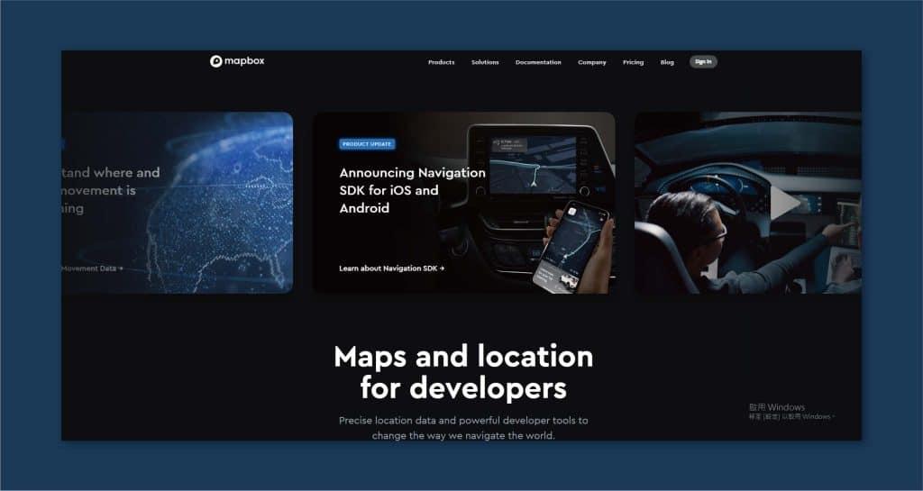 深色模式在視覺效果上,會讓網站略顯高級感。
