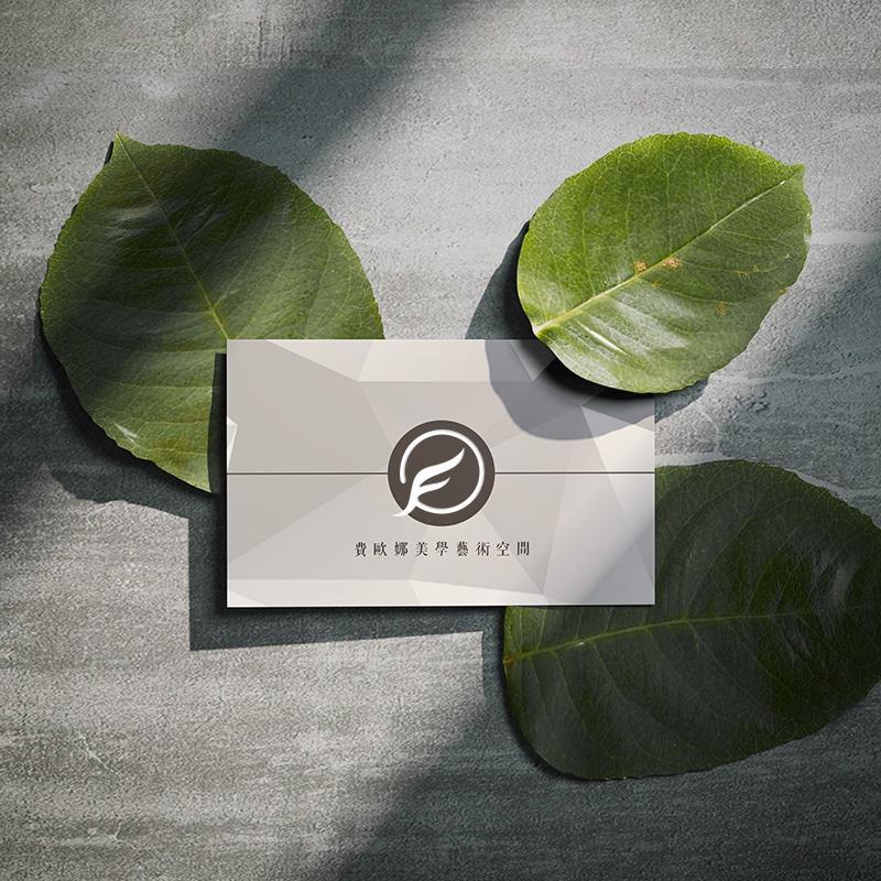 費歐娜美學藝術空間 名片設計 LOGO設計 形象設計 品牌設計 商標設計