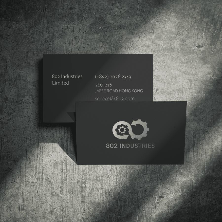 802工業 LOGO設計 形象設計 品牌設計 商標設計