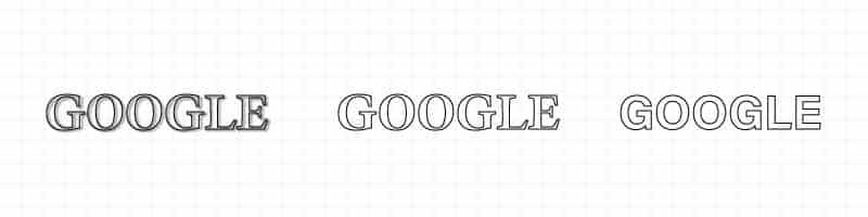 GOOGLE LOGO LOGO設計 商標設計 形象設計 品牌設計
