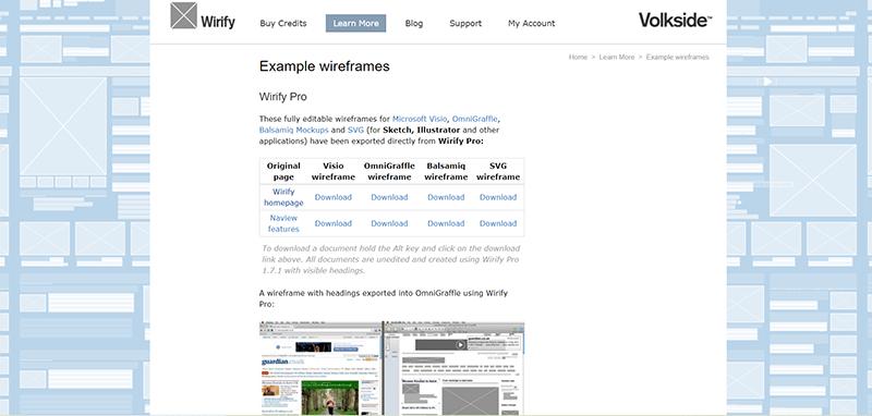 Wirify可以用來觀察其他網站的架構。