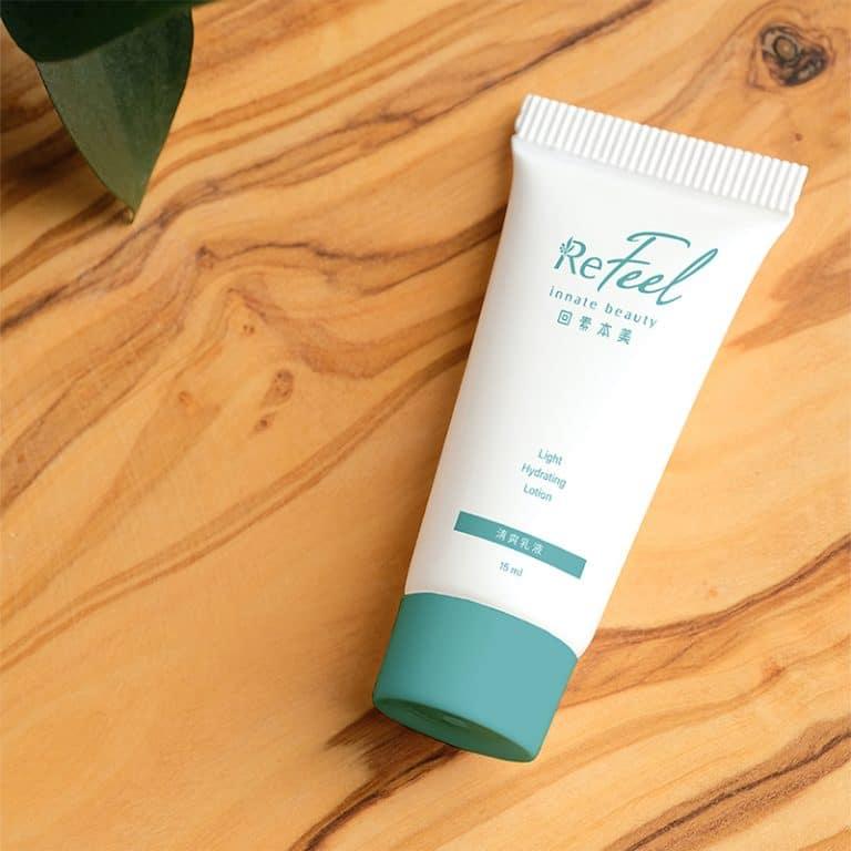 回素本美Refeel innate beauty LOGO設計 形象設計 品牌設計 商標設計